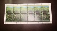 SURVIVAL OF THE FOREST ISSUE, S# 522-523, PANES OF 12  MNH CV 45    L111018 - 10
