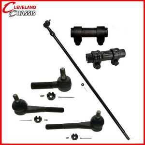 6 Pc Kit Center Link Tie Rod End Sleeves Chevrolet K10 Blazer K20 All 4WD 76-80