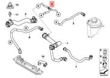 Genuine BMW E70 SUV Cooling System Water Hose Vent Pipe OEM 17127536236