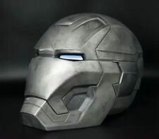 Adult 1:1 Replica Full Metal Iron Man MK42 with LED eye Helmet Remote Control C4