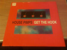 """12"""" MIX HOUSE PIMPS GET THE HOOK WOX 04  EX-/VG+ ITALY PS 1993 VSC"""