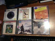 LOT OF 6 CLASSICAL CD'S (MAHLER LIEDER HAITINK LITTON URBANEK WAART