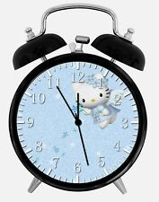 "Hello Kitty Alarm Desk Clock 3.75"" Home or Office Decor Z110 Nice For Gift"