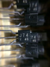 Toshiba 2SJ74 V 2SK170 V JFETs for MC /Line Pre Amp - 10 Pair
