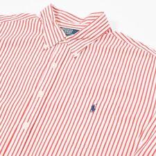 En muy buena condición Polo By Ralph Lauren Rayas Camisa con botones | Para Hombre XL | Vintage Retro 90s