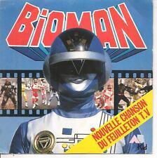 "45 TOURS / 7"" ENFANTS--BIOMAN--CHANSON FEUILLETON T.V --BERNARD MINET--1987"