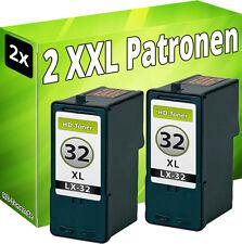 PATRONEN REFILL für LEXMARK 2x 32 P6250 P910 P915 Z815 Z816 P4310 P4330 P4350