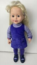 Playmates Amazing Ally Interactive Doll 1999 Excellent Condition She Talks