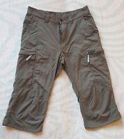 Women's HAGLOFS Climatic Capri Zip-Fly Shorts, Size EU36/UK10