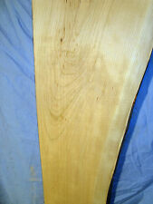 "#3643  Wild Cherry Live Edge Slab table top shelf rustic wood 58""L8 1/4""W1""T"