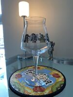 Beer Teku Glass ~ GREAT NOTION Brewing Co Character Jammy Pants Portland Oregon