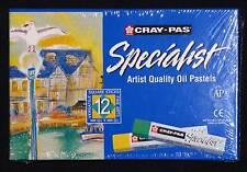 12 Artists Oil Pastels Cray-Pas Sakura drawing painting Premium Art Materials