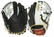"Rawlings Encore Adult 12.25"" Outfield Baseball Glove Mitt Leather EC1225-2BW"