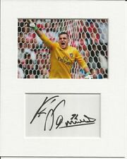 More details for vito mannone arsenal genuine authentic autograph signature and photo aftal coa