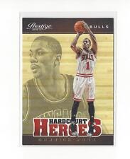 2012-13 Prestige Hardcourt Heroes #9 Derrick Rose Bulls