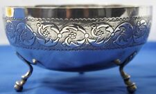SOLID 835 SILVER FLUTED FOOTED BOWL CENTERPIECE 238 grams # PL-1311