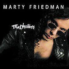 True Obsessions [Shrapnel by Marty Friedman (CD, Sep-1996, Shrapnel)