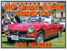 MG 2014 Classic British Sports Car Wall Calendar - Quality Framable Photos