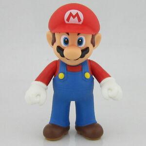 New Super Mario Brothers Bros. Mario Action Figures figurines 4.7 inch 12CM