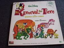 Walt Disney-Der Karneval der Tiere LP-Horst Buchholz-Booklet-Made in France