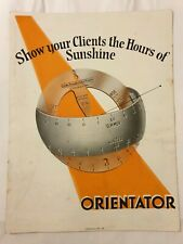 Vintage Brochure - 'Orientator' Instrument by Cooke, Troughton & Simms, England