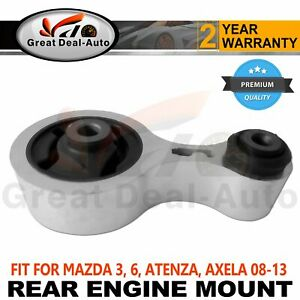 Fits MAZDA 6 GH 2008-2013 Rear Engine Mount Auto Manual