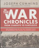 BOOK  MILITARY WAR ILLUSTRATED THE WAR CHRONICLES 400 PAGES JOSEPH CUMMINS