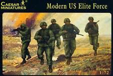 Caesar Modern US Elite Force soldiers figuras 1:72 elite unidad EE. UU. kit nuevo embalaje original