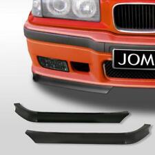 JOM Front Spoilerlippe BMW 3er E36 GT-Look Spoiler Ecken vorne FLAPS schwarz Neu