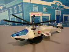 Mission Force:POLICE RESPONSE☆AIR GRABBER 2100☆White/black copter;SWAT☆MATCHBOX