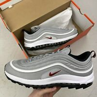 NIKE AIR MAX 97 GOLF SILVER BULLET UK 11.5 EU 47 US 12.5 CI7538 001 NEW