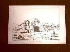 Antica tomba Siracusa Sicilia Ristampa John Goldicutt Antiquies Sicily 1818