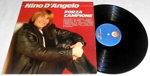 NINO D'ANGELO FORZA CAMPIONE LP 1983 + INNER