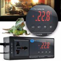 Digital LED Temperature Controller Thermostat For Aquarium Reptile 110V/220V New