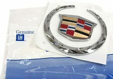 OEM NEW Front Grille Wreath & Crest Emblem Badge 04-08 Cadillac CTS XLR 25757717
