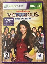 Victorious Time To Shine Trilingual Cover Xbox
