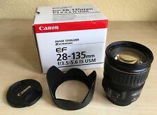 Canon Zoom Objektiv EF 28-135mm IS USM, f 3,5 - 5,6, OVP - neuwertig