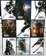TEENAGE MUTANT NINJA TURTLES - MOVIE PROMO UNCUT CARD SHEET