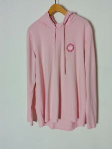 Vineyard Vines Women's Whale Logo Pink Long Sleeve Hoodie