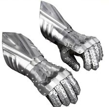 15th Century Medieval, Viking Gauntlets / Gloves, Fully Articulated Metal Armour