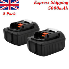 2Pack 5.0AH 18V Battery For Makita BL1840 BL1830 BL1850 LXT Lithium Ion Cordless