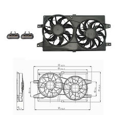 Rad & Cond Fan Assembly Fits: 2001 - 2006  Dodge Stratus L4 2.4L V6 2.7L Sedan