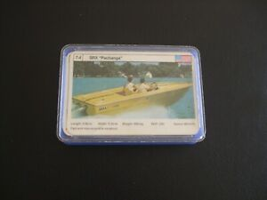 Motor Yachts Series 2 Top Trumps Cards (Title Card Missing)