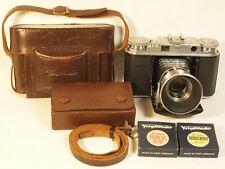 VOIGTLANDER Vito III 35mm Rangefinder Camera with 1:2 Ultron Lens + Accessories