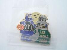 NOS Vintage McDonalds Advertising Enamel Pin #03 - LAS VEGAS 1998