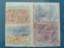 LICATA RICCARDO 2 disegni del 1973 e 1974 Opere uniche. Archiviate.