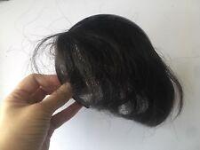 Hair Piece - Bangs - Black - real hair