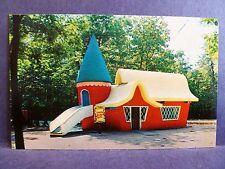 Postcard NJ Egg Harbor Storybook Land Sleeping Beauty's Castle