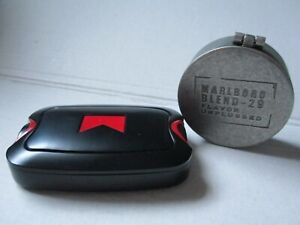 Marlboro Red od. Blend 29 Taschen Aschenbecher Ascher / Dose 2 Varianten NEU OVP