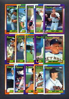 1990 Topps Detroit Tigers TEAM SET w/ Traded